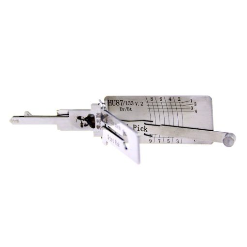 Classic Lishi HU87 HU133R V.2 2in1 Decoder and Pick