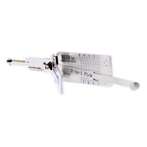 Classic Lishi MIT8 (Ignition) (GM15/GM19/SZ12) 2in1 Decoder and Pick